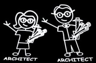 architectural stick figures