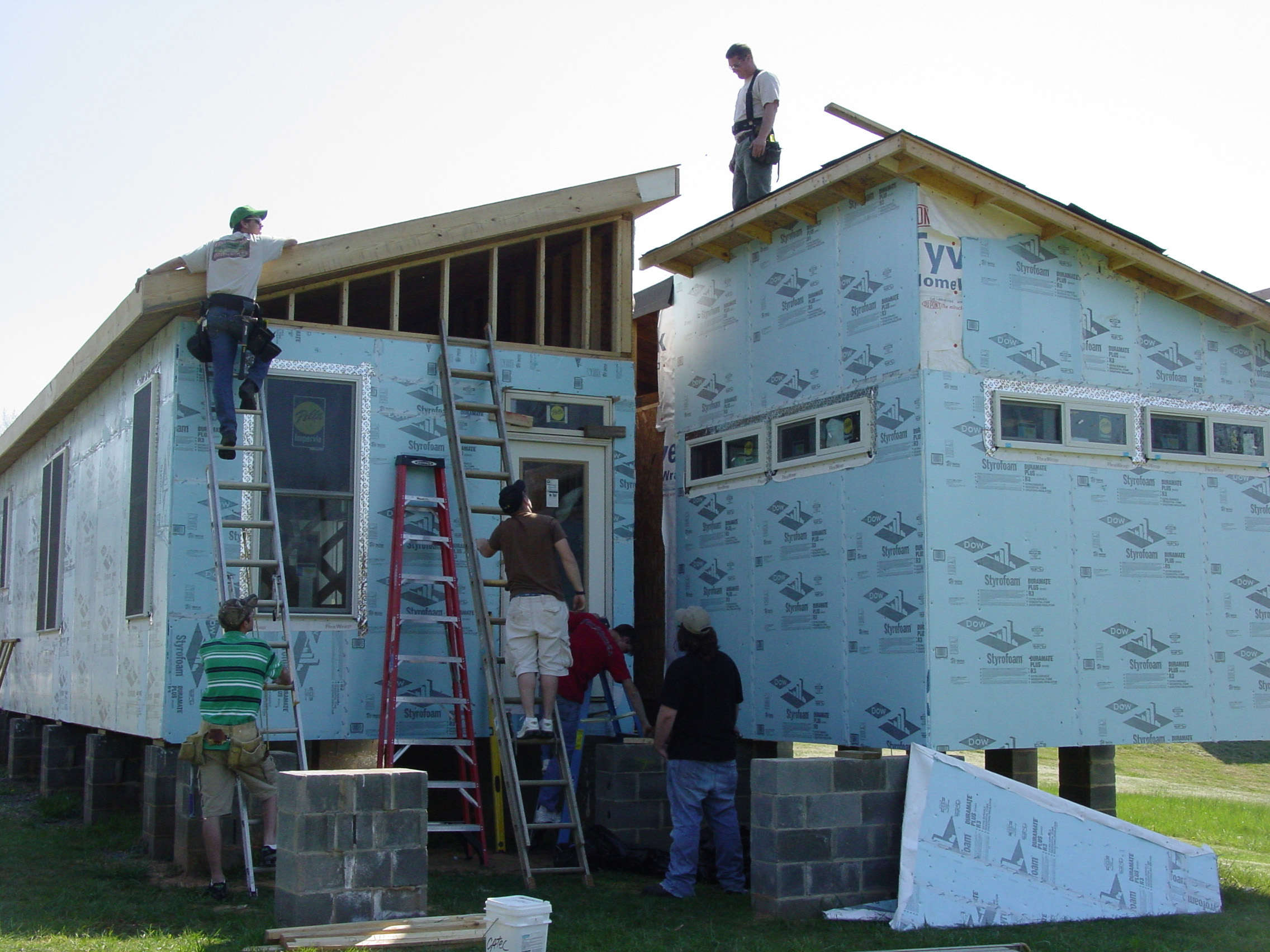 Insulation for exterior walls of home home design for Exterior insulation