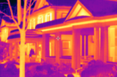 Thermal house image