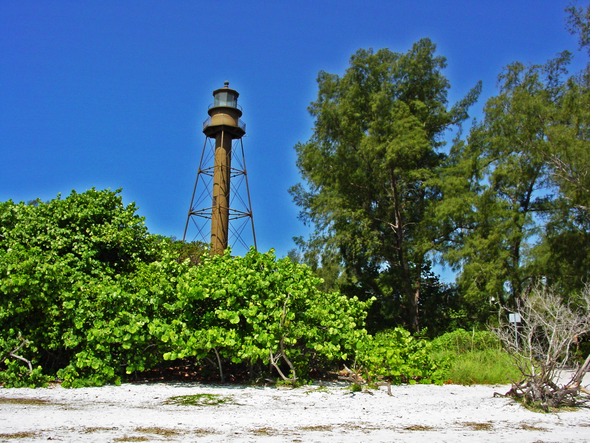 The Sanibel Island Light Is The First Lighthouse On Floridau0027s Gulf Coast  North Of Key West. Located On The Eastern Tip Of Sanibel Island, The  Foundation Was ...