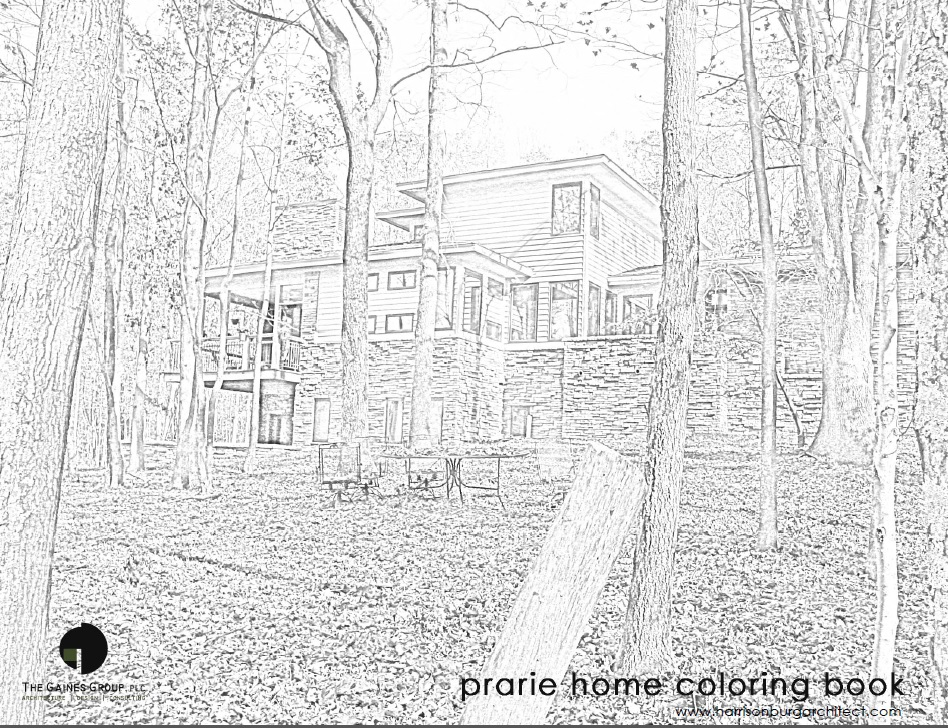 The Gaines Group Architects Architectural Coloring Book