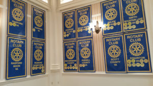 Rotary Club of Rockingham County Rotary club banners