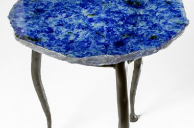Galactic Blue side table