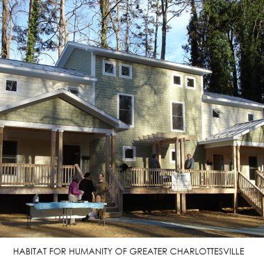 HABITAT FOR HUMANITY OF GREATER CHARLOTTESVILLE