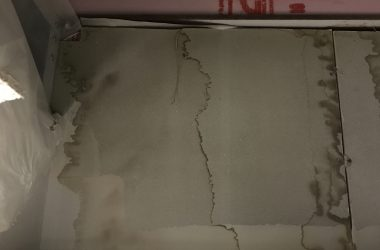 wall water stain
