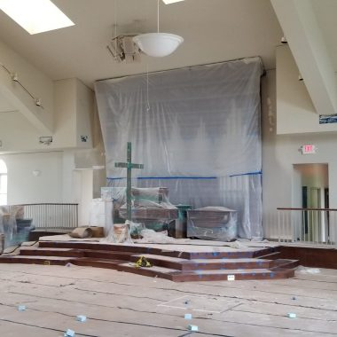Park View Mennonite Church Hallway