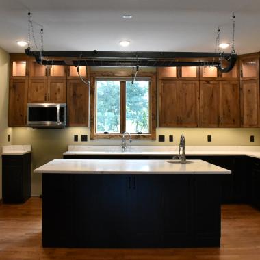 Modern Hillside Kitchen